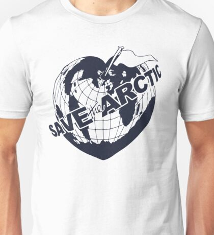 Official Save The Arctic - Greenpeace Tee Unisex T-Shirt