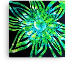 Glorious Greenery Collection - Suddenly A Flowering III Canvas Print