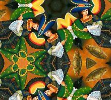 Archangel Kaleidoscope by Jorge H. Elias