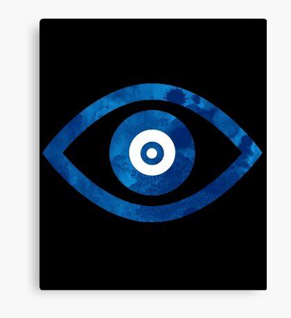 Blue Eye Canvas Print