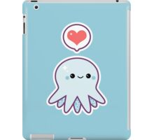 Cute Blue Octopus iPad Case/Skin