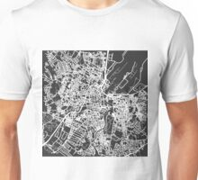 Simplified Map of Belfast Unisex T-Shirt