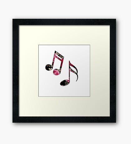 Beautiful Music Framed Print