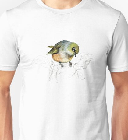 Sylvereye bird of New Zealand Unisex T-Shirt