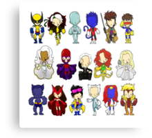 X MEN GROUP  Metal Print