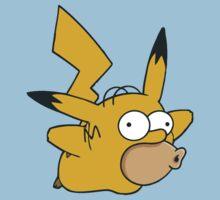 Pikachu x Homer by JDNoodles
