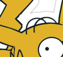 Pikachu x Homer Sticker