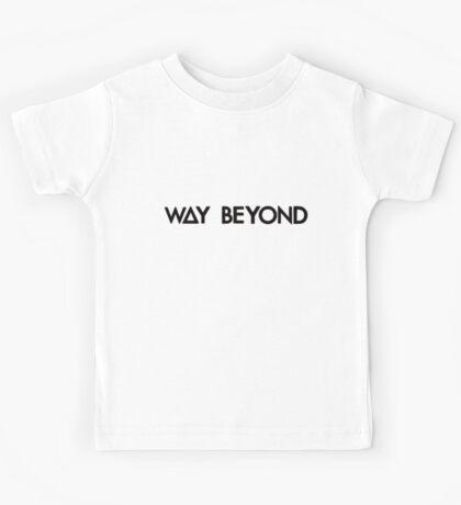 way beyond (black) Kids Tee