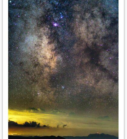 Milky Way galaxy Sticker