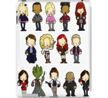 Doctors Companions and Friends V.2 iPad Case/Skin
