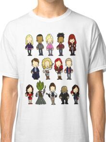 Doctors Companions and Friends V.2 Classic T-Shirt