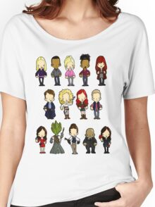 Doctors Companions and Friends V.2 Women's Relaxed Fit T-Shirt