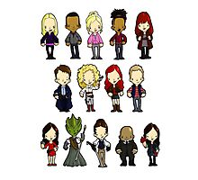 Doctors Companions and Friends V.2 Photographic Print