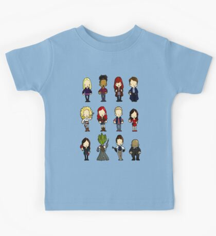 Doctors Companions and friends Kids Tee