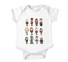 Doctors Companions and friends One Piece - Short Sleeve