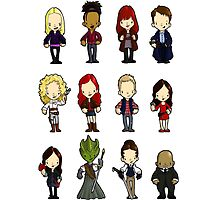 Doctors Companions and friends by Bantambb