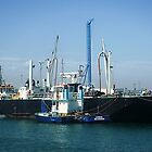*Tugboat Condor at work in Williamstown, Vic. Australia* by EdsMum