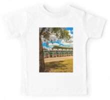 Truck Parking for Christmas Kids Tee