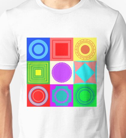 Fun shapes Unisex T-Shirt