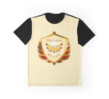 Hylians United Shield on Cream Graphic T-Shirt