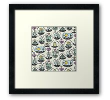 glass bowls of joy Framed Print
