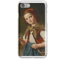 Luis Ammy Blanc (), Little Red Riding Hood iPhone Case/Skin