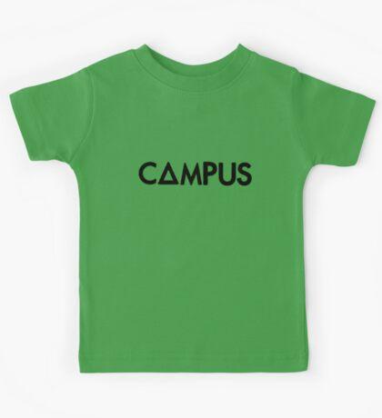 campus  (black) Kids Tee