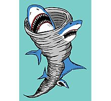Shark Tornado Photographic Print