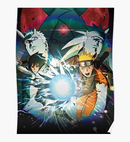Naruto & Sasuke  Poster