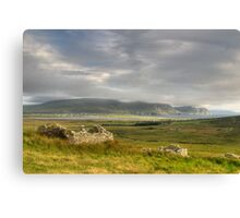 Keel beach from the Deserted Village Canvas Print