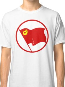 Communist Emoji Flag (Circled) Classic T-Shirt