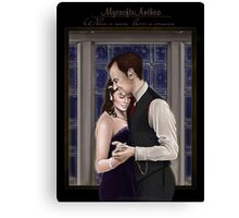 Mythea - When a man loves a woman Canvas Print