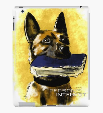 Bear (Person of Interest) iPad Case/Skin