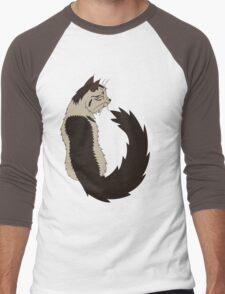 Love is a Purr from the Heart Men's Baseball ¾ T-Shirt