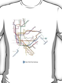 new york subway diagram T-Shirt
