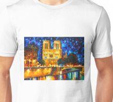 NOTRE DAME DE PARIS - Leonid Afremov Unisex T-Shirt