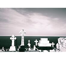 A place to rest by the ocean Photographic Print