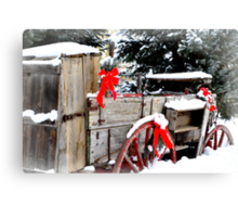 Decorated For Christmas  Canvas Print