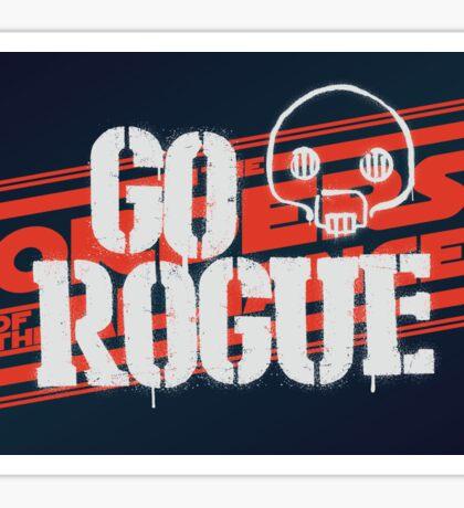 Go Rogue Sticker