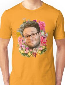 Seth Rogen Floral Unisex T-Shirt