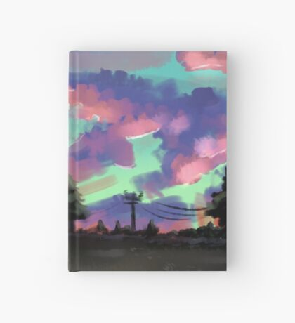Pink Skies Hardcover Journal