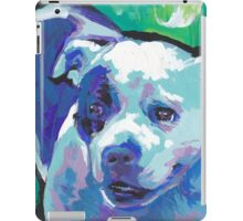 staffordshire Bull Terrier Bright colorful pop dog art iPad Case/Skin