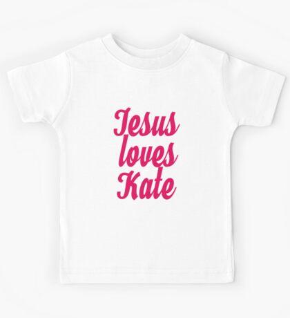 Jesus loves Kate Kids Tee