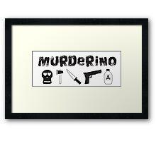 My Favorite Murder - Murderino Framed Print