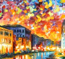 VENICE - GRAND CANAL - Leonid Afremov Sticker