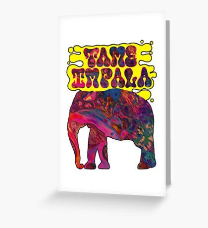 tame impala Greeting Card