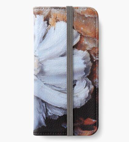 Gypsum Flower in a Cave iPhone Wallet/Case/Skin