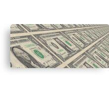 Dollar Dollar Bill Ya'll Canvas Print