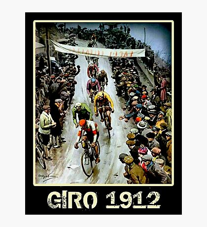 GIRO; Vintage Bicycle Race Advertising Print Photographic Print
