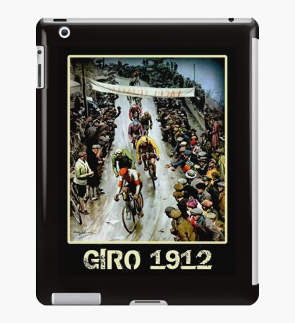 GIRO; Vintage Bicycle Race Advertising Print iPad Case/Skin